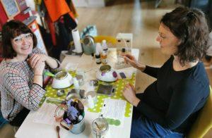 atelier DIY à domicile entre copines cadeau